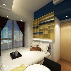 现代小卧室装修效果图