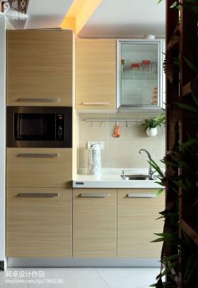 简约厨房橱柜效果图片