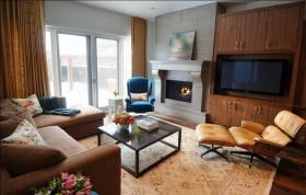 客厅木质电视柜装修效果图