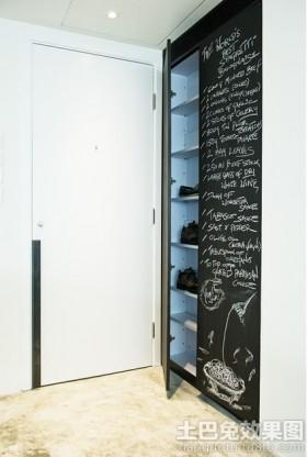 2013年进门玄关鞋柜装修效果图