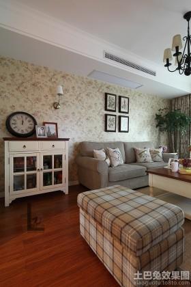 田园客厅布艺沙发