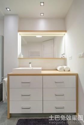 简约洗手间装修效果图大全2013