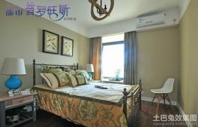 欧式田园风格卧室装修效果图片