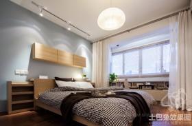 日式风格卧室装修效果图大全2013图片