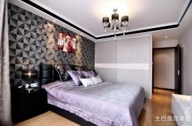 最新现代婚房卧室装修效果图