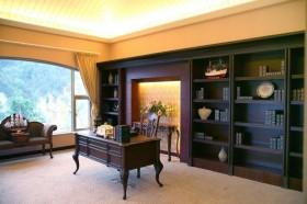 新古典风格书房书架效果图欣赏