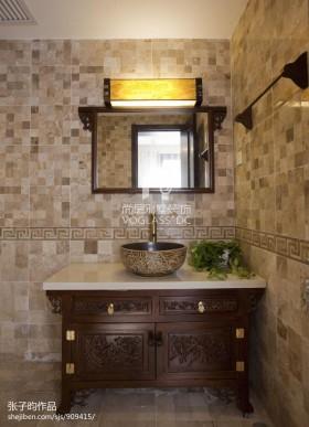 新中式卫生间瓷砖图片