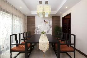 新中式餐厅吊灯造型设计