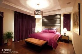 卧室吊顶灯效果图图片