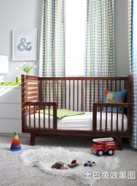 儿童房婴儿床设计效果图大全