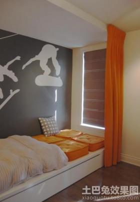 卧室靠窗榻榻米装修效果图