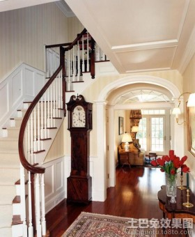 玄关楼梯装修效果图大全