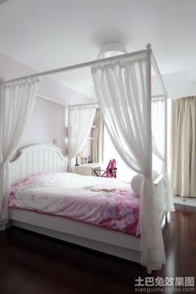 简约欧式卧室装修效果图大全图
