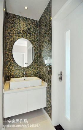 卫生间墙面马塞克瓷砖效果图