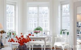 简欧风格客厅飘窗装修效果图
