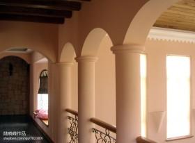 别墅过道柱子装修效果图
