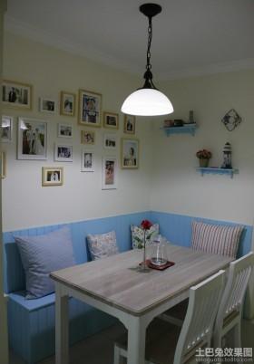 餐厅照片墙效果图大全