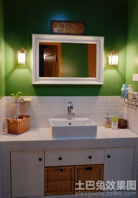 家装小洗手间装修效果图