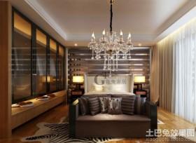 卧室水晶灯泡图片