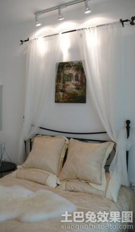卧室床头射灯图片