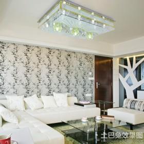 客厅方形水晶灯图片