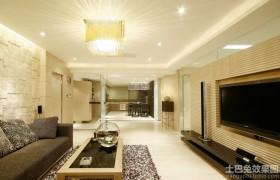 客厅方形水晶灯图片2013