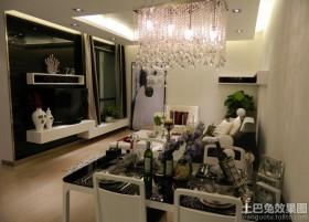 2013最新客厅方形水晶灯图片