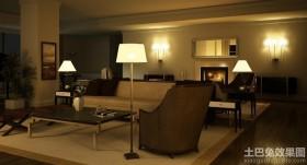 现代客厅落地灯图片