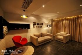 现代客厅沙发摆设设计