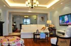 两房一厅客厅家具摆放装修效果图