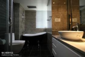 现代卫生间淋浴室图片