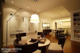 现代简约风格四居室家庭书房装修效果图大全2013图片