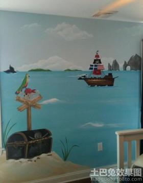 小户型儿童房手绘墙装修