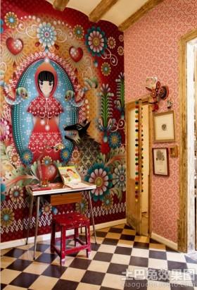 书房背景墙装饰效果图