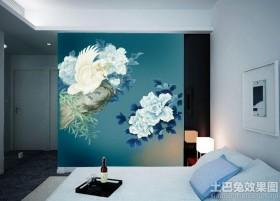 时尚大方的墙绘图案