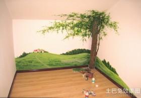 室内手绘墙画图片