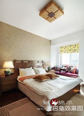 10平米中式卧室装修效果图