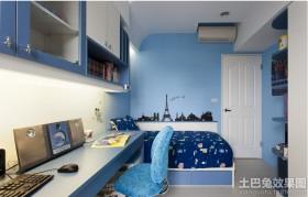 小卧室书房柜子装修效果图