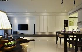 大户型客厅电视墙装修效果图大全