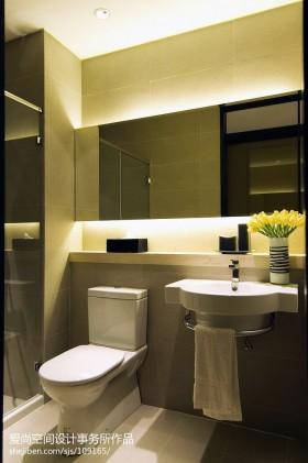 现代卫生间装修设计图片大全