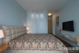 长方形主卧室装修效果图