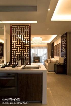 中式风格厨房隔断装修效果图