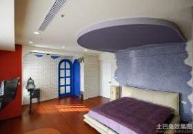 现代榻榻米卧室装修效果图欣赏