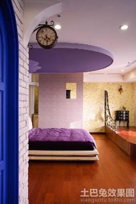 最新地中海风格卧室设计效果图