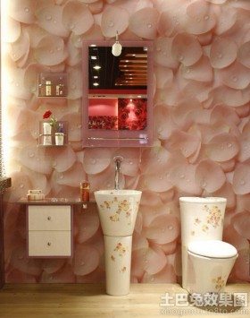 花瓣卫浴效果图