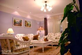 欧式田园风格客厅家具图片