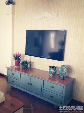 田园电视背景墙装修效果图大全2013图片
