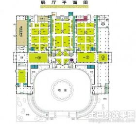 博物馆展厅平面图