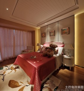 女生大卧室装修效果图欣赏