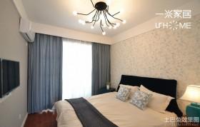 现代简约卧室装修设计效果图大全